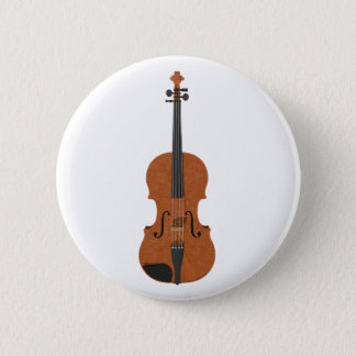 Violin: 3D Model: 2 Inch Round Button