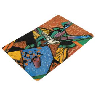 Violin and Checkerboard by Juan Gris Floor Mat
