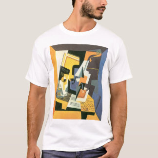 Violin and Glass by Juan Gris, Vintage Cubism T-Shirt