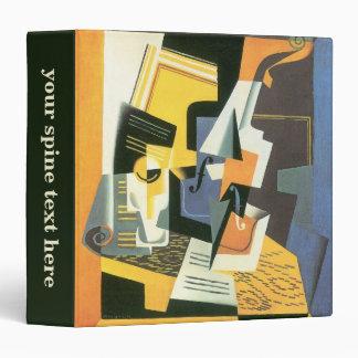 Violin and Glass by Juan Gris, Vintage Cubism Vinyl Binder