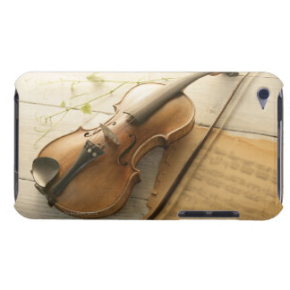 Violin and Sheet Music Barely There iPod Cases