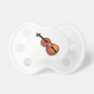 Violin Baby Pacifiers