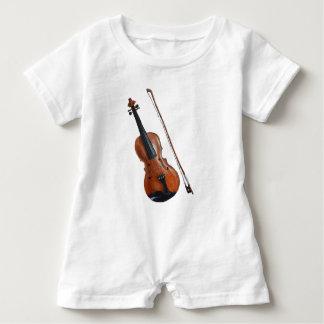Violin Baby Romper