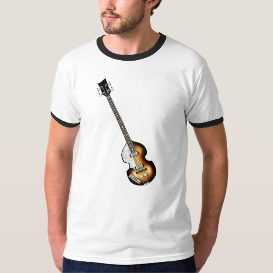 Violin Bass Guitar T-Shirt