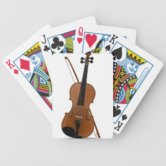 Violin Bicycle Playing Cards