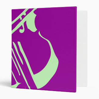 Violin Binder Light Green