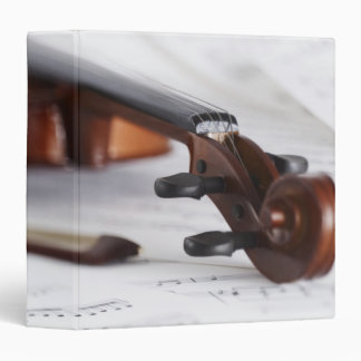 Violin Bow 3 Ring Binder