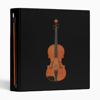 Violin & Bow: 3D Model: Custom Binder