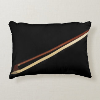 Violin Bow Accent Pillow