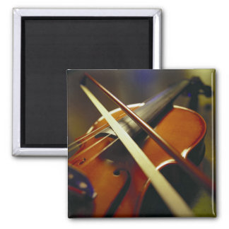 Violin & Bow Close-Up 1 Magnet