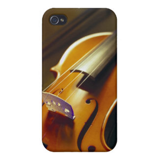 Violin & Bow Close-Up 2 Cover For iPhone 4