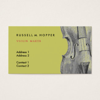 Violin Business Card