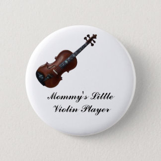 VIOLIN-BUTTON 2 INCH ROUND BUTTON