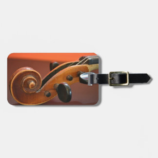 Violin classical stringed musical instrument luggage tag