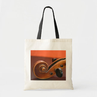 Violin classical stringed musical instrument tote bag