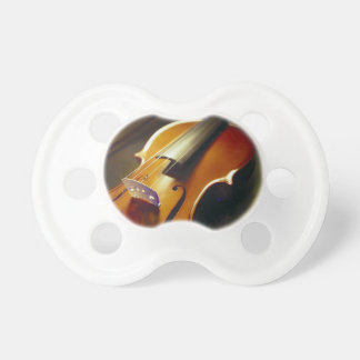 Violin Close Up Music Pacifiers