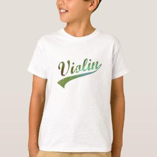 Violin Design by Leslie Harlow T-Shirt