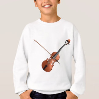Violin Design Sweatshirt