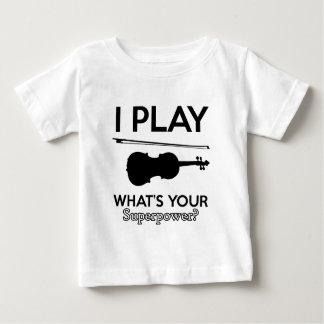 violin designs baby T-Shirt