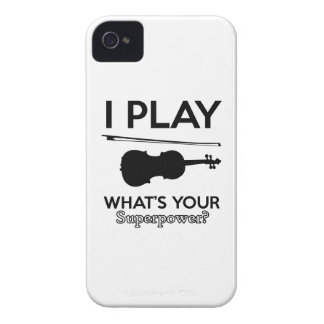 violin designs Case-Mate iPhone 4 case