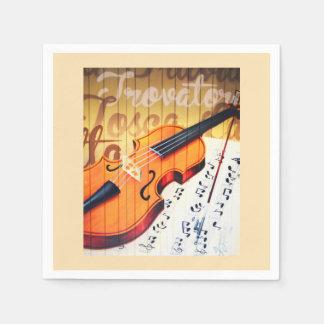 Violin Disposable Napkin
