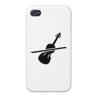 Violin Fiddle iPhone 4/4S Cases