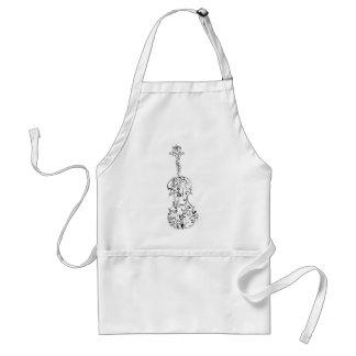 Violin Flourish Standard Apron