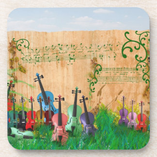 Violin Garden Coaster
