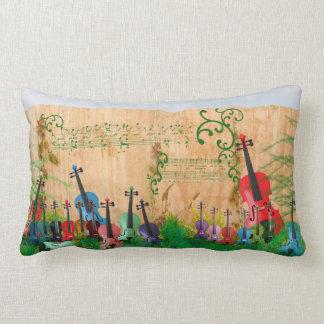 Violin Garden Lumbar Pillow