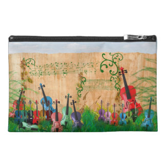 Violin Garden Travel Accessory Bag