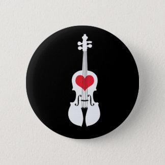 Violin Gift Button-Classic Design 2 Inch Round Button