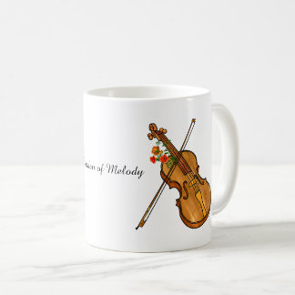 Violin is Music's Garden of Melody Coffee Mug