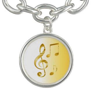 Violin key bracelets