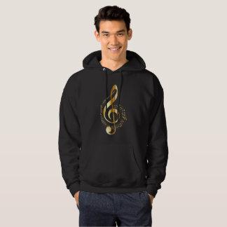 Violin key hoodie