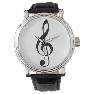 violin key music watch