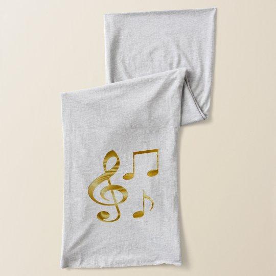 Violin key scarf wrap