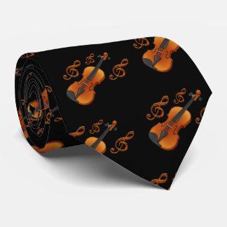 Violin key tie