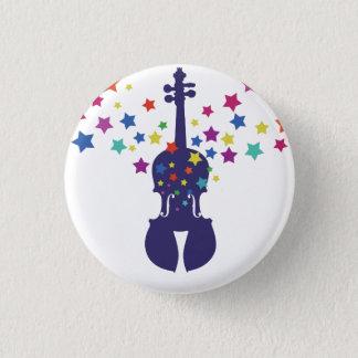 Violin Little Star Button