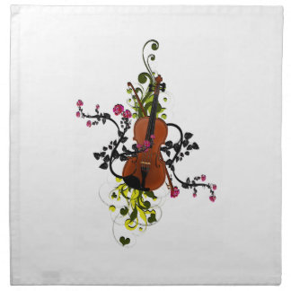 Violin Love Napkin