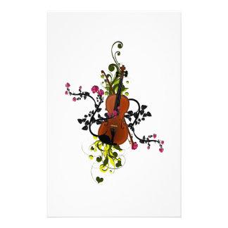Violin Love Stationery