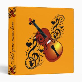 Violin,Lover at Heart_ Binder