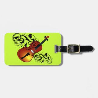 Violin,Lover at Heart_ Luggage Tag