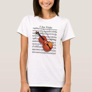 Violin Lover_ T-Shirt