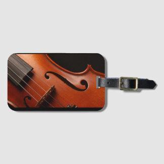 Violin Luggage tag, Bag Tag