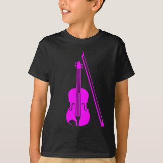 Violin - Magenta T-Shirt