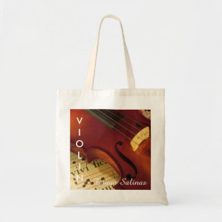Violin Music Bag Personalized Name | Violinist