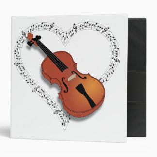 Violin Music Binder