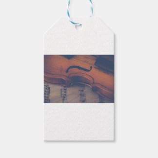Violin Music Instrument Classic Musical Instrument Gift Tags