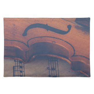 Violin Music Instrument Classic Musical Instrument Placemat