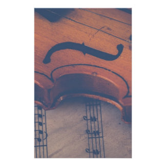 Violin Music Instrument Classic Musical Instrument Stationery
